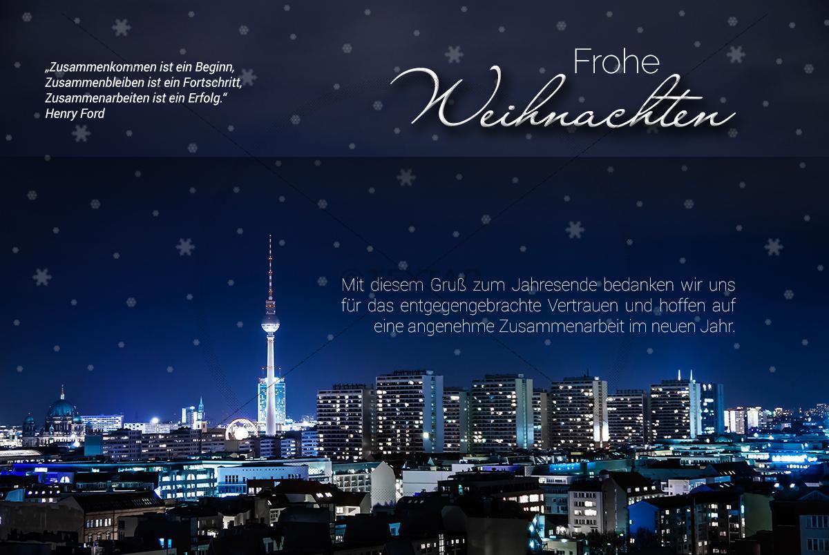 Weihnachtsgrüße Aus Berlin.Stylische Geschäftliche Weihnachts E Cards Weihnachtsgrüße Aus Berlin 0387