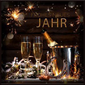 FROHES NEUES JAHR E-Card • Grußkarte (287)