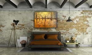 Abstraktes Wandbild - Acryl Gemälde - ©G-Hofer_TEXTAG-GROUP PO181