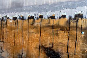 """Extravagantes, abstraktes Wandbild - Acryl Gemälde - """"Loft-Blue"""" Unikat handgemalt (201) ©gH Abstrakt Design"""