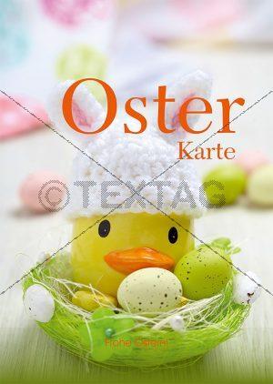 Speisekarten Vorlage für Oster Menü, Word Vorlage zum Ausdrucken (123)