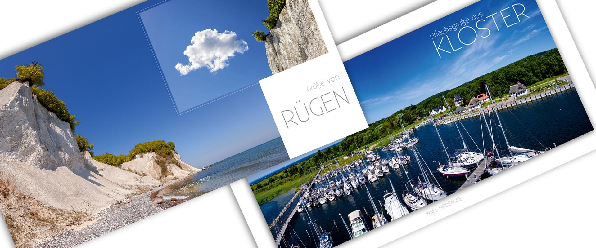 Postkarte oder Ansichtskarte als Werbemedium inkl. Druck, ab 10 Stk.
