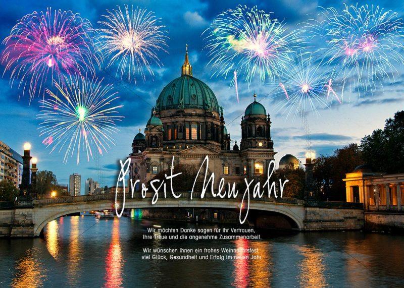 Silvester E-Card Feuerwerk über dem Berliner Dom (Berliner Dom) (394)
