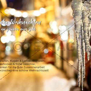 nostalgische Weihnachts E-Card (400)