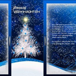extravagante Weihnachts E-Card, geschäftlich, ohne Werbung (402)