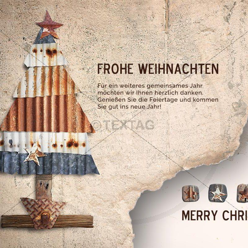 nostalgische Weihnachts E-Card, geschäftlich, ohne Werbung (405)