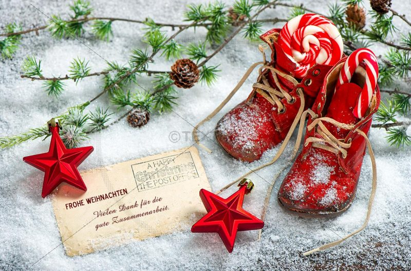 nostalgische Weihnachts E-Card, geschäftlich, ohne Werbung (407)