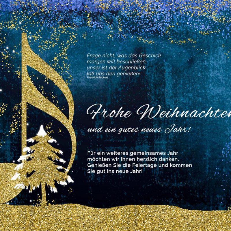 abstrakte Weihnachts E-Card, geschäftlich, ohne Werbung (410)