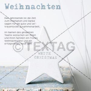 geschäftliche, elegante Weihnachts E-Card, ohne Werbung (00429)