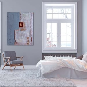 Abstrakte Wandbilder