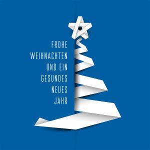 geschäftliche Weihnachts eCard in Deutsch oder Englisch, ohne Werbung (436) Version Deutsch