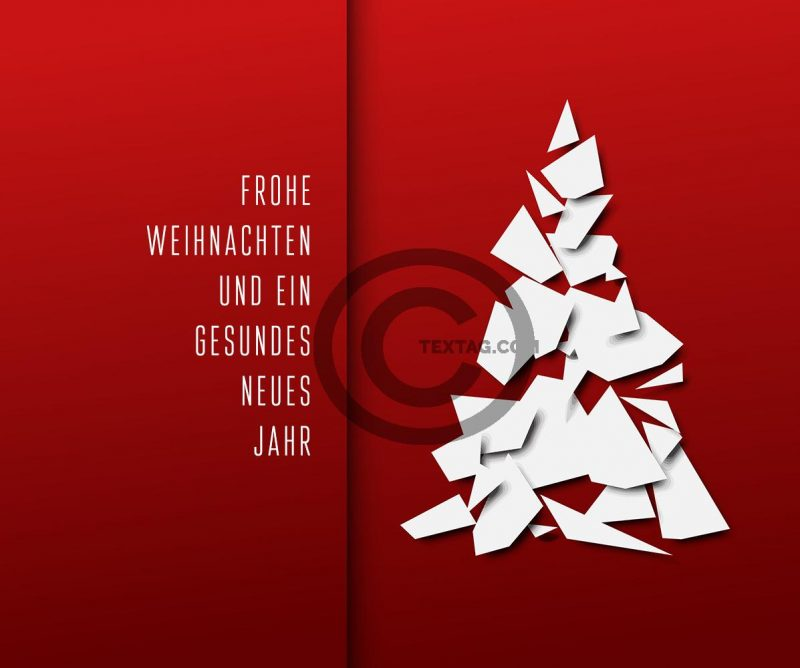 geschäftliche Weihnachts eCard in Deutsch oder Englisch, ohne Werbung (437) Version Deutsch