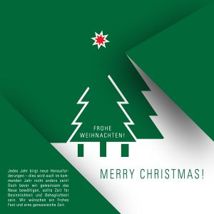 geschäftliche Weihnachts eCard mit Spruch, ohne Werbung (451)