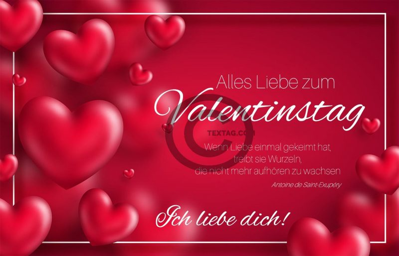 Valentinstag E-Cards für umweltbewusste Liebende VAL-2020-00453