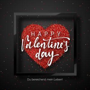 Valentinstag E-Cards für umweltbewusste Liebende (00457)