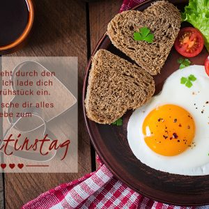 Liebe geht durch den Magen! Valentinstag E-Cards für Freunde (00468)