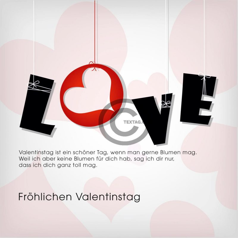 "Valentinstag E-Cards ""LOVE"" (00471)"