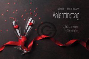 Valentinstag E-Card - Einfach so... (00482)