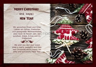 nostaligsche weihnachts e card mit spruch in deutsch. Black Bedroom Furniture Sets. Home Design Ideas